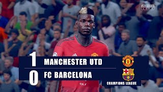 Manchester United vs FC Barcelona   UEFA CHAMPIONS LEAGUE QUARTER FINAL ● FIFA19 UCL Predict