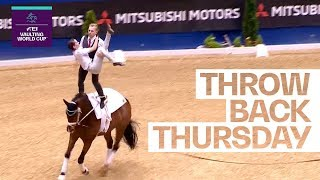 Pas De Deux Dreamteam: Bresch & Jacobs' title win in Dortmund  #Throwback | FEI Vaulting World Cup™