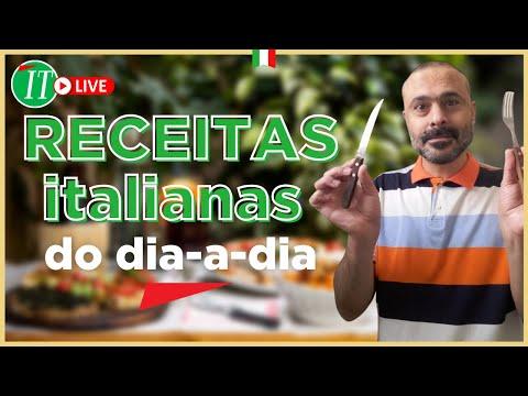 CULINÁRIA- RECEITAS ITALIANAS
