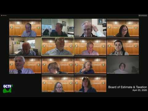 Board of Estimate & Taxation Workshop, April 23, 2020
