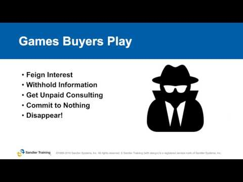 Games Buyers Play Webinar with InsideSales & Sandler Training