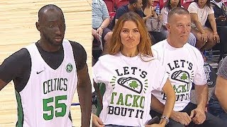 Tacko Fall Has Hot Girl Cheering But Celtics Sit Him Out & Get Eliminated In 2019 NBA Summer League!