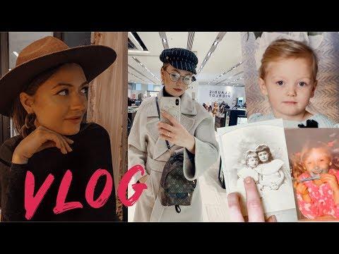 VLOG | У родителей дома, старые фотки, shopping day, рисую картину 2