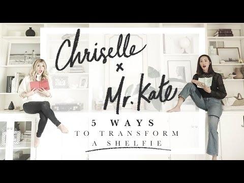 5 Ways to Transform a Shelfie w/ Mr. Kate & Chriselle Lim