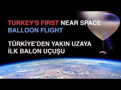 Ankara'dan Yakın Uzay'a Balon