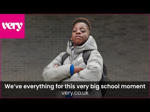 very.co.uk & Very Promo Code video: The Throne- We've everything for this very big school moment