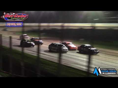 Red Cedar Speedway WISSOTA Hornet Races (7/30/21) - dirt track racing video image