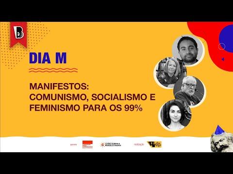 MANIFESTOS: comunismo, socialismo e feminismo | Bhaskar Sunkara, Nancy Fraser e Osvaldo Coggiola