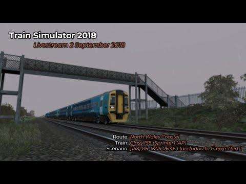 [158] 06. 1K05 06:46 Llandudno to Crewe: Part 1 (Livestream 02/09/2018)
