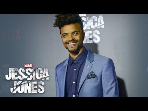 Eka Darville on Malcolm Ducasse - Marvel's Jessica Jones Red Carpet - default
