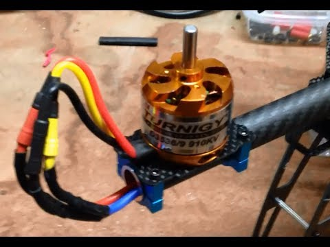 HobbyKing Alien 560 Quadcopter Build Part 2 - Electronics Motor and ESC install - UCIJy-7eGNUaUZkByZF9w0ww
