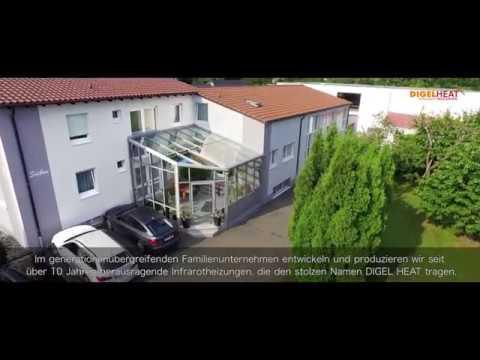 Infrarotheizung - Imagefilm DIGEL HEAT Infrarotheizungen mit Untertitel