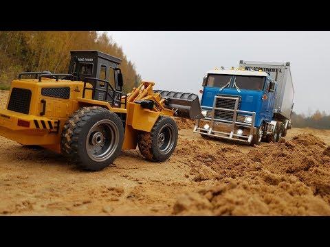 ФРОНТАЛЬНЫМ ПОГРУЗЧИКОМ ВЫТАСКИВАЕМ ФУРУ ... Радиоуправляемые грузовики (RC Tamiya Truck) - UCX2-frpuBe3e99K7lDQxT7Q