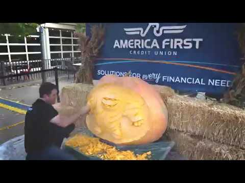 America First Credit Union - 2016 Giant Pumpkin Carve