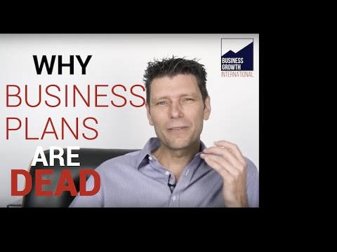 Why Business Plans are Dead