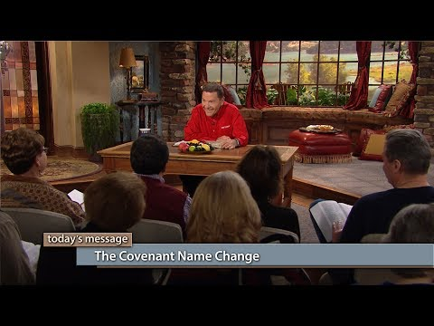 The Covenant Name Change