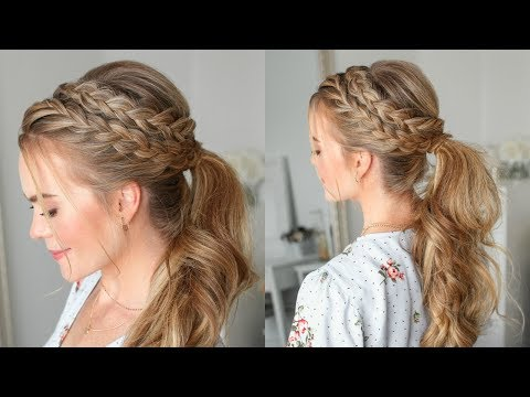 Lace Dutch Ponytail | Missy Sue