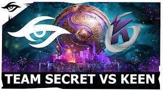 TI9 Team Secret Group Stage 4th Series (Day 2)