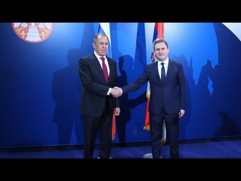 Пресс-конференция глав МИД РФ и Сербии от 16.04.21