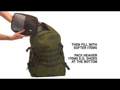 Сумка-рюкзак CabinZero Military 44L Absolute Black