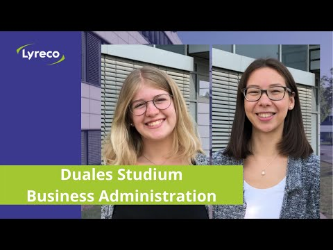 Duales Studium Business Administration Fachrichtung Handel bei Lyreco #bestjobever