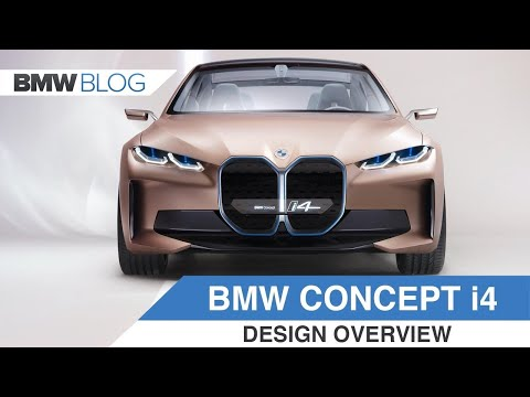 BMW Concept i4 – The First BMW Electric Sedan