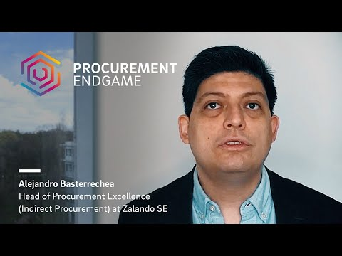 Alejandro Basterrechea (Zalando) on Procurement in Hypergrowth Companies
