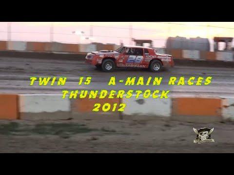 June15/12 Thunderstock Twin15 Races@ Ohsweken Speedway - dirt track racing video image