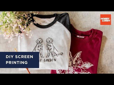 DIY Screen Printing | T-Shirt Tutorial | Hobby Lobby®