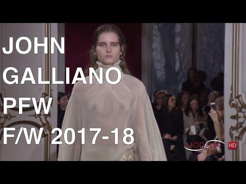 JOHN GALLIANO | FALL WINTER 2017 - 2018 | FASHION SHOW