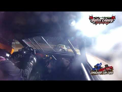 #97 Matt Smith - 4 Cylinder - 7-9-2021 Dallas County Speedway - In Car Camera - dirt track racing video image