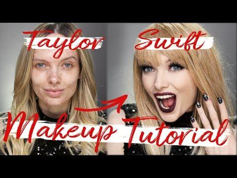 TAYLOR SWIFT MAKEUP TUTORIAL / REPUTATION TOUR // MyPaleSkin