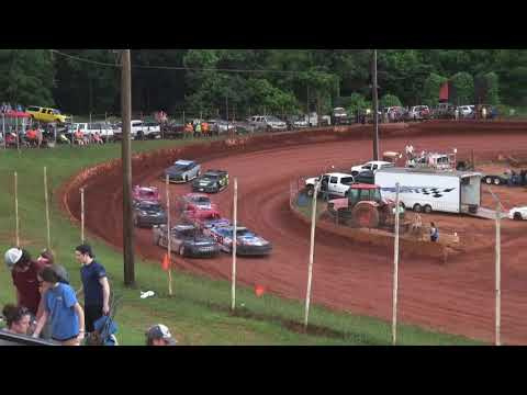 Modified Street at Winder Barrow Speedway June 12th 2021 - dirt track racing video image