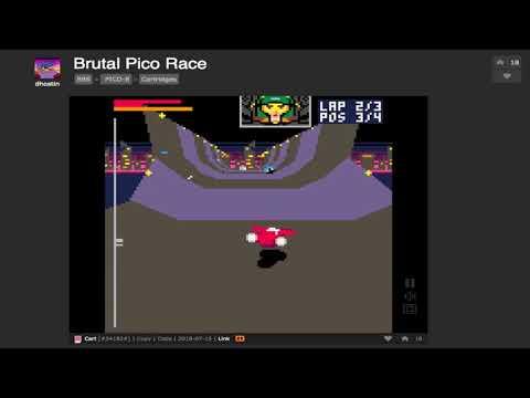 BRUTAL PICO RACE on Pico-8 by dhostin