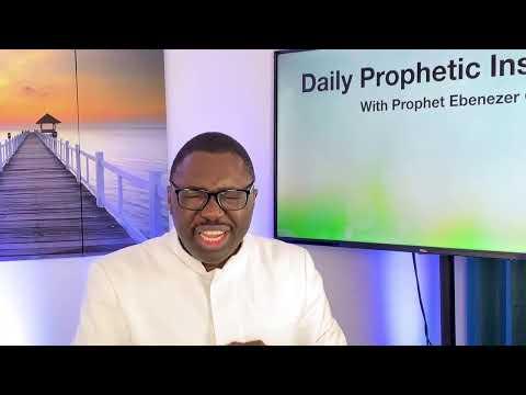 Prophetic Insight  Mar 8th, 2021