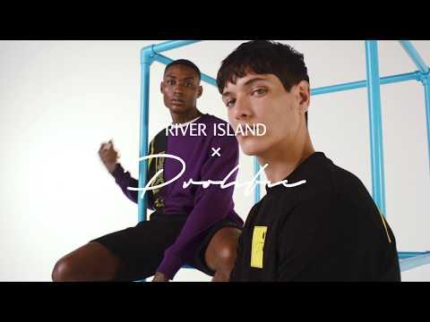 riverisland.com & River Island promo code video: River Island X Prolific // Menswear sportswear // River Island