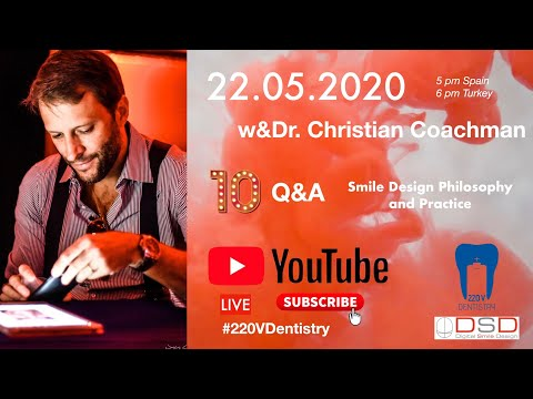 One of the worlds top dental professionals Dr. Christian Coachman will be my guest for today, we will discuss the advanced technology we can use today in our daily life. Enjoy!