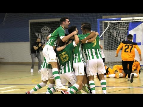 ¡Los goles del Ascenso a Segunda del Real Betis Futsal B y el Palma Futsal B!