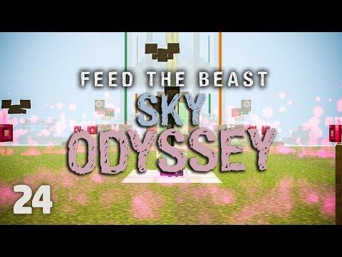 FTB Sky Odyssey Ep  24 Crazy XP Production - VidVui