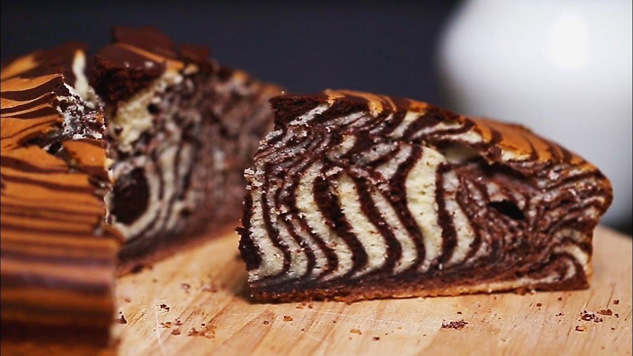 Торт зебра гифка