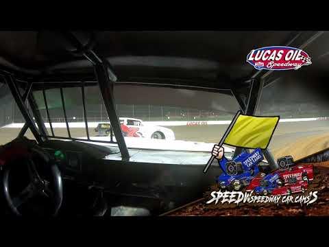 #21 Darren Phillips - Usra Stock Car - 5-1-2021 Lucas Oil Speedway - In Car Camera - dirt track racing video image