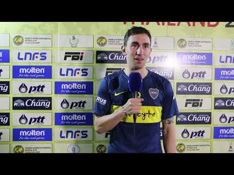 World Intercontinental Futsal Cup: Santi Basile (Boca Juniors)