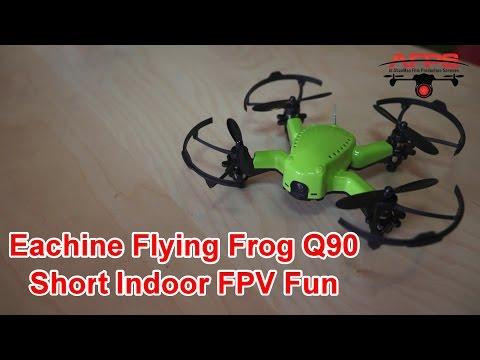 Eachine Flying Frog Q90 Indoor FPV Flight - UCsFctXdFnbeoKpLefdEloEQ