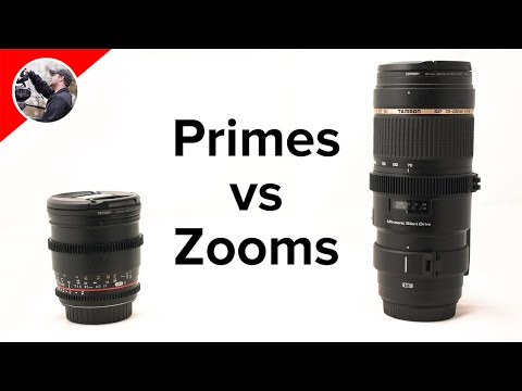 Lenses: Primes vs Zooms