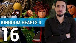 Vidéo-Test : KINGDOM HEARTS 3 : Réussi malgré ses défauts ? | TEST