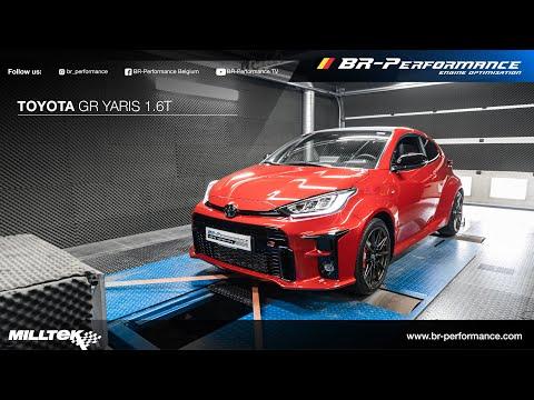 Toyota GR Yaris / Dynorun By BR-Performance / MILLTEK exhaust