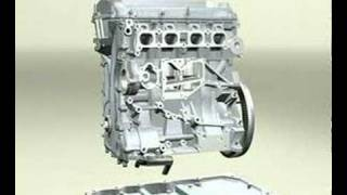 DOHC 4 cylinder engine Video - Part 1 - YouTube