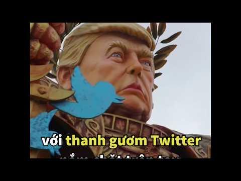'Hoàng đế' Trump diễu phố  (VOA)