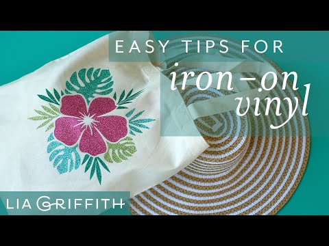 How To Use Iron On Vinyl - Multicolor Transfer