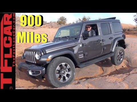 Phoenix to Moab to Denver: First On and Off-Road New Wrangler Road Trip Review